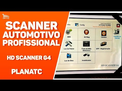 Scanner Automotivo Profissional para Análise de Motor - Video