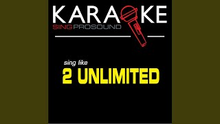 Maximum Overdrive (Karaoke Instrumental Version) (In the Style of 2 Unlimited)