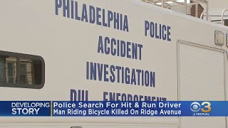 Police Searching For Driver After Bicyclist Killed In Hit-And-Run In North Philadelphia
