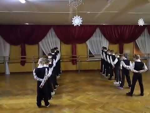 Командный танец зажигаем брейк