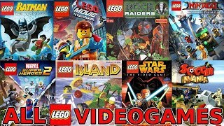 ALL LEGO VIDEO GAMES EVER MADE! (1997-2018)