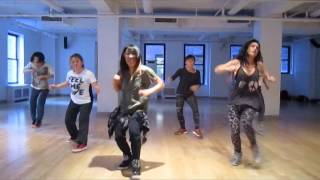 """All In a Day's Work"" Danity Kane - Chio's Jazzfunk Class"