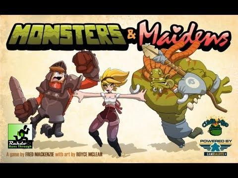 Rahdo Runs Through►►► Monsters & Maidens