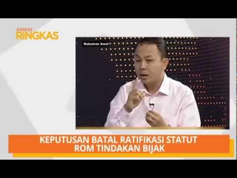 AWANI Ringkas: Tengku Mahkota Kelantan bakal berkahwin, manfaat jika ECRL diteruskan & Statut Rom
