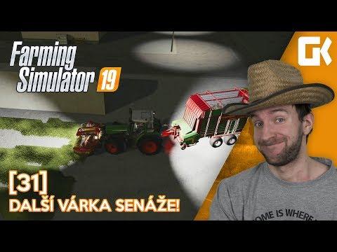 DALŠÍ VÁRKA SENÁŽE! | Farming Simulator 19 #31