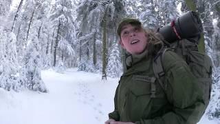 Winterbiwak mit Feuer und kalter Nacht!