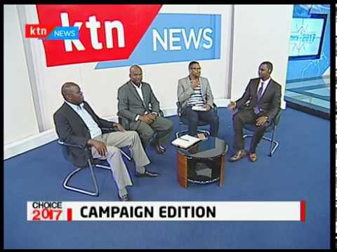 Choice 2017/06/24 :  Campaign Edition, NASA and Jubilee traversing in a bid to woo voters  part 1