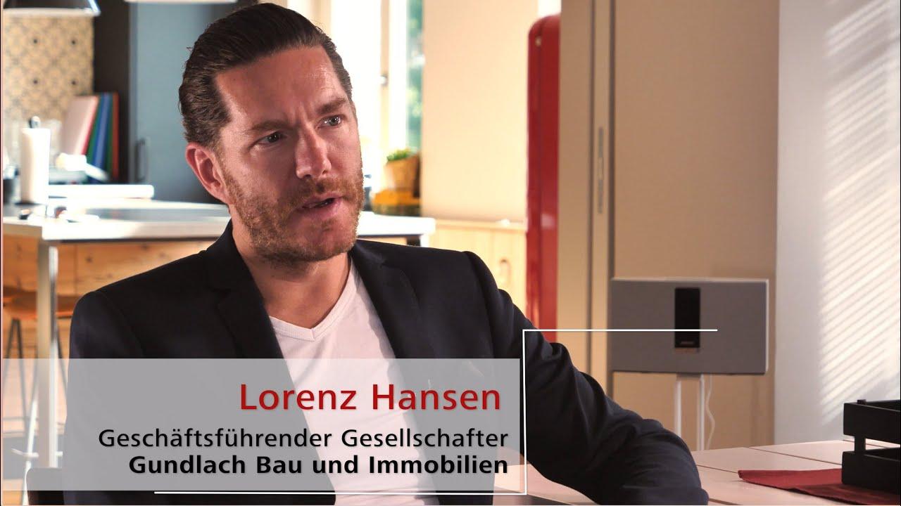 Kulturwandel bei Gundlach Bau und Immobilien: Lorenz Hansen spricht mit Sebastian Purps-Pardigol