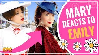 Disneyland Mary Poppins Reaction To Emily Blunt