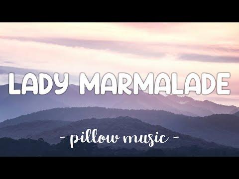 Lady Marmalade - Christina Aguilera (Feat. Mya, Pink, Lil' Kim, Missy Elliott) (Lyrics) 🎵