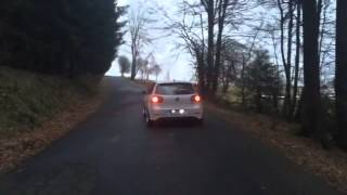 Mkv gti Ed30 Sound straight pipe Loud
