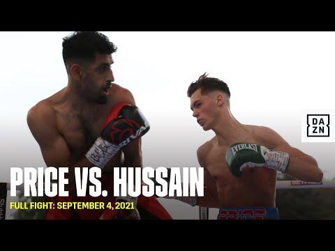 Хоупи Прайс – Захид Хуссейн / Hopey Price vs. Zahid Hussain