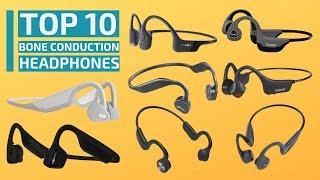 Top 10: Best Wireless Bone Conduction Headphones for 2020 - 10 Best Open-Ear Headphones for Sports
