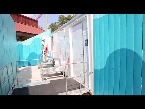 Portable Restroom Rentals | Kings Dominion Rental