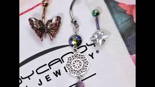 Body Candy Belly Ring Monthly Subscription Box - July 2018 Collection