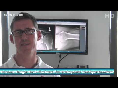 Übung gegen Osteochondrose