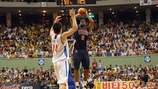USA vs. South Korea 2006 FIBA Basketball World Championship Exhibition FULL GAME Korean