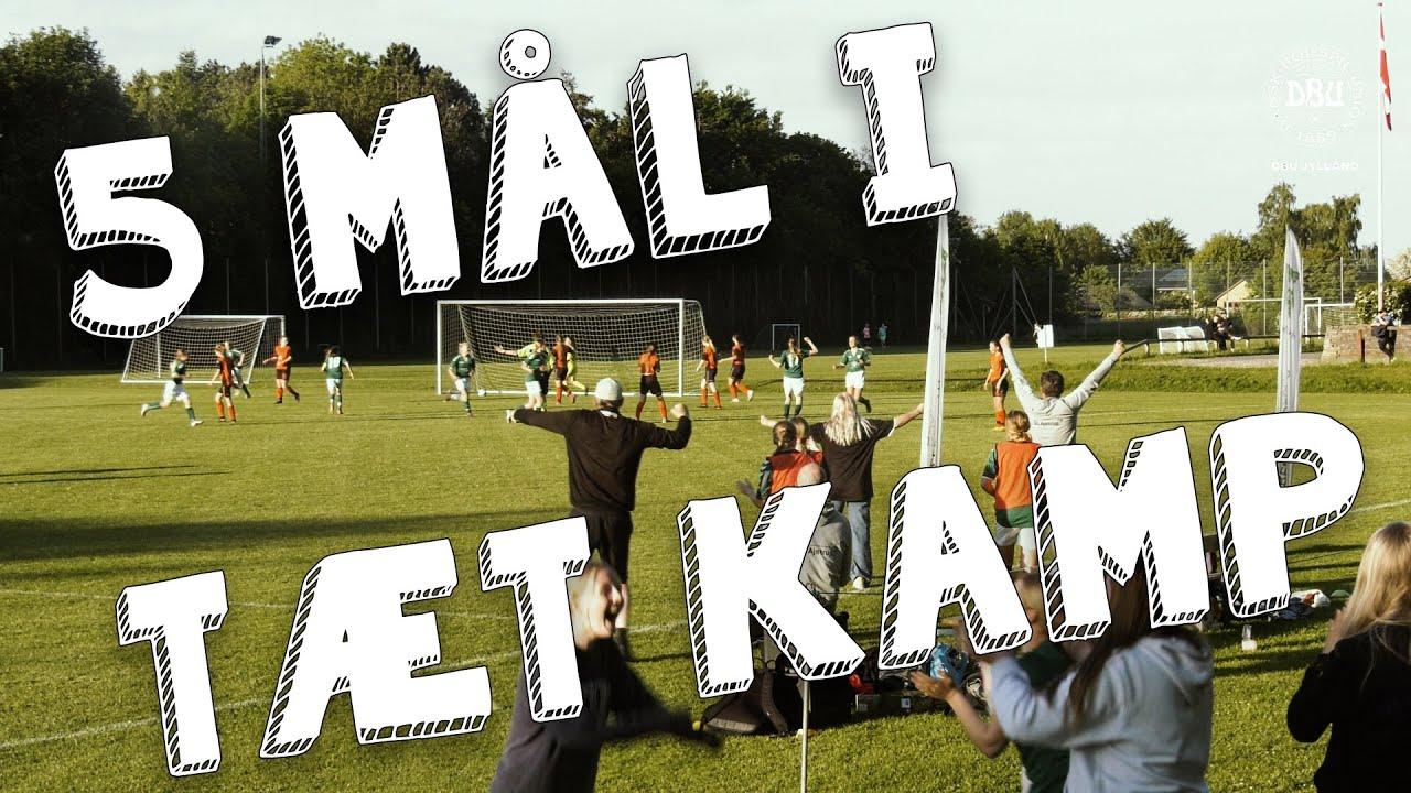 Fem mål i første finale i DBU Jyllands pokalturnering
