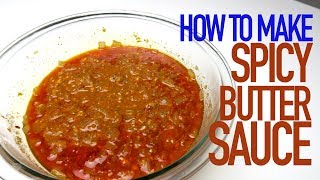 HOW TO MAKE TAE'S SPICY BUTTER SEAFOOD BOIL SAUCE || RECIPE