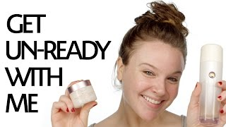 Get Unready With Me: Nighttime Skincare Routine for Sensitive Dry Skin