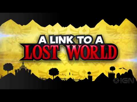 Sonic Lost World -- The Legend of Zelda Zone Trailer