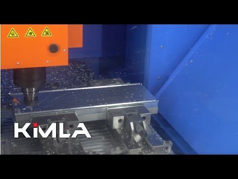 Aluminium milling on BFN with linear drives