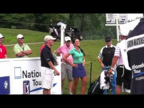 Holly Sonders Interview BMW Charity Pro-Am 2012