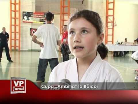 """Cupa """"Ambiţia"""" la Băicoi"""