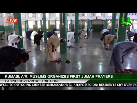 Easing Of Covid-19 Restrictions: Muslims Organizes First Jumah Prayers