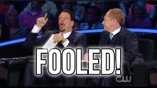 Penn & Teller: Fool Us // Adam Wilber Totally Baffles Them! REACTION l crazy trick