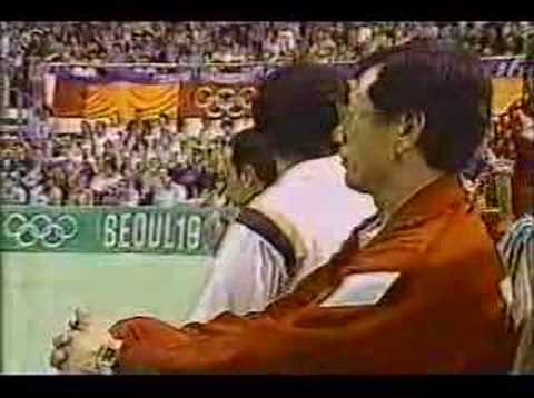 PERU VS USSR SEOUL 88 NBC TV