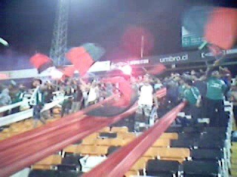 """""""salida Los Tanos AUDAX v/s UC copa Chile 2008"""" Barra: Los Tanos • Club: Audax Italiano"""