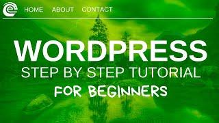 Wordpress Tutorial For Beginners 2019 - Create A Website Step by Step