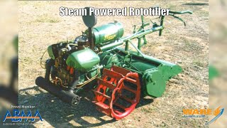 Farming Easier with a Steam Powered Rotavator! - Steam Culture