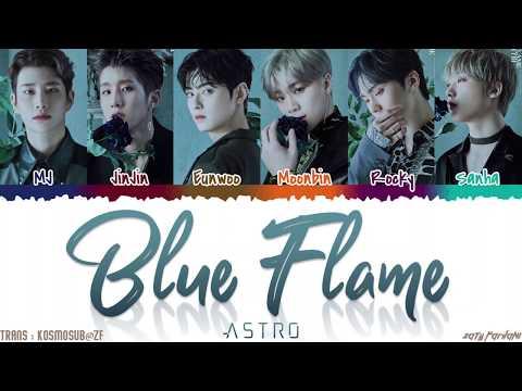ASTRO (아스트로) - 'BLUE FLAME' Lyrics [Color Coded_Han_Rom_Eng]
