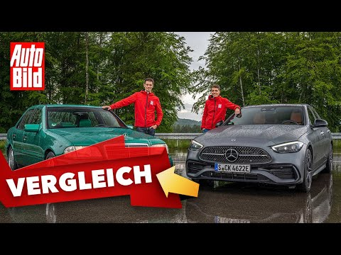Mercedes C-Klasse (2021) | Die C-Klasse im Generationen-Vergleich | Peter Fischer & Moritz Doka