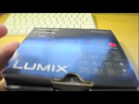 Panasonic Lumix DMC-FH25 Unboxing