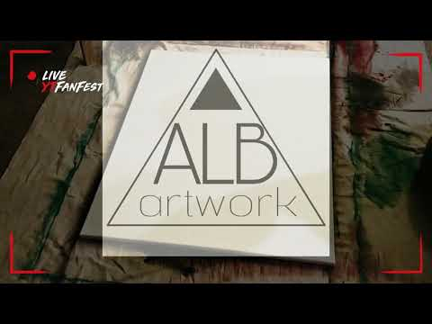 Video of me creating an abstract painting using a palette knife.