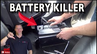 Here's Why Your Car Battery Keeps Draining