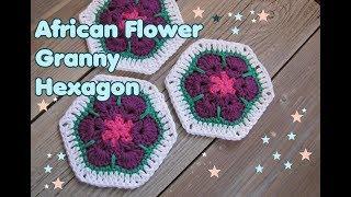 Blumen Granny Häkeln видео видео