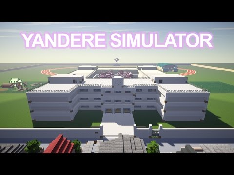 Yandere Simulator Map [includes House + School] Minecraft