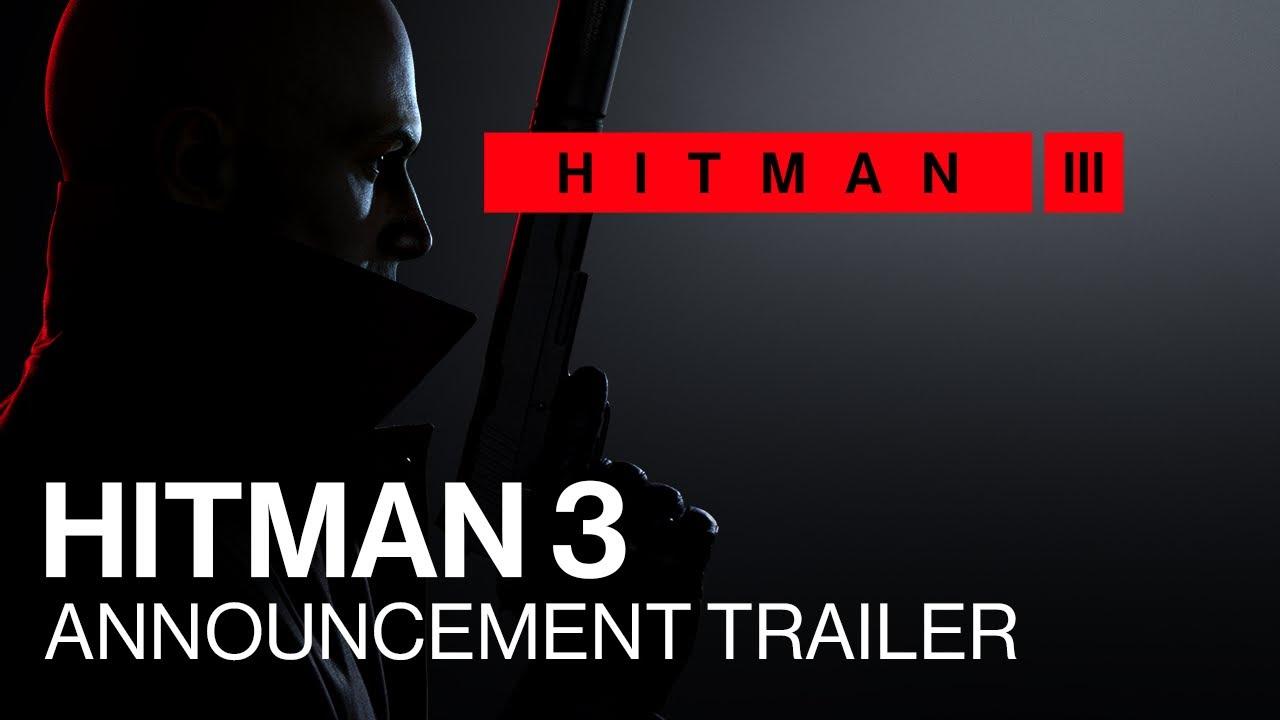 Анонсирующий трейлер игры Hitman 3