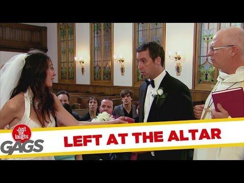 מתיחה מצחיקה בעיצומה של החתונה!