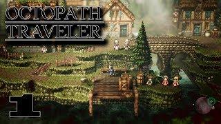 PRIMROSE Y OLBERIC - Octopath Traveler - Directo 1