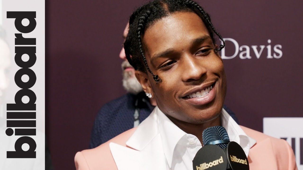 A$AP Rocky at The 2019 Grammy Awards