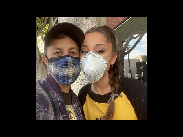 Ariana Grande Joins the protests in Los Angeles