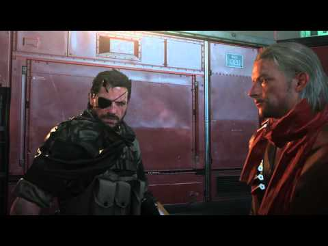 METAL GEAR SOLID V: He's called Big Boss for a reason.