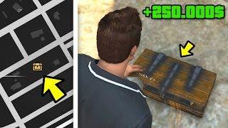 Geheimer 250.000$ SCHATZ In GTA Gefunden ! 🤑