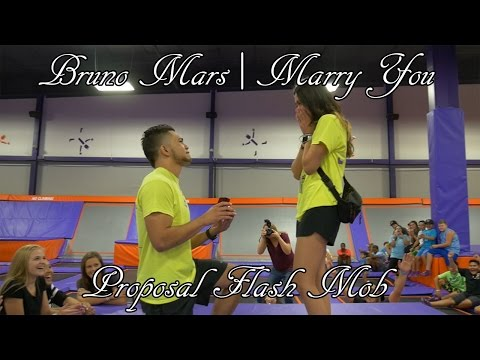 Bruno Mars | Marry You Proposal Flash Mob! Mp3