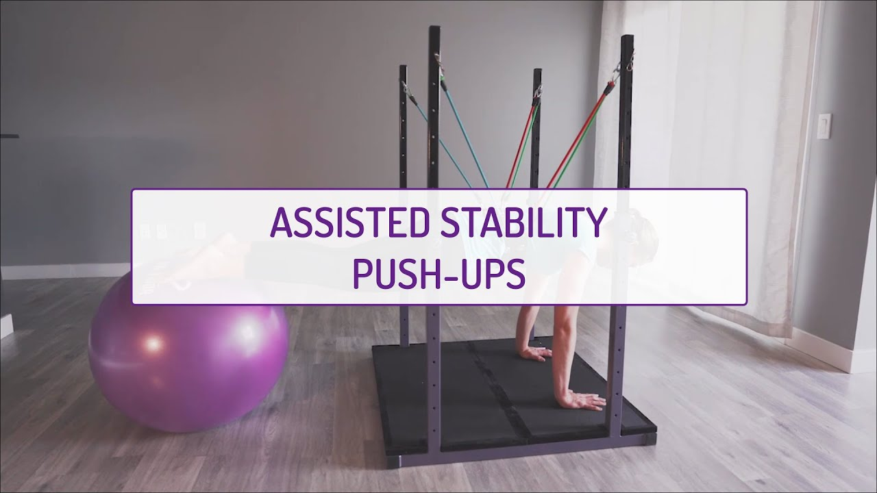Assisted Stability Push-Ups